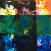 Radierung / Mehrfarbig/ 42 cm x 42 cm